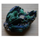 Malachite and azurite cluster 001