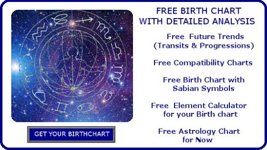 Astrology free birth chart