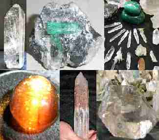 crystals, gemstones, minerals
